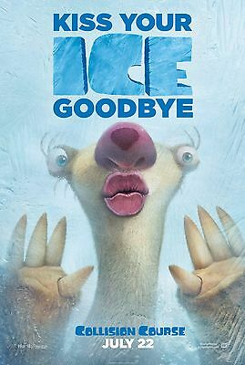 "Ice Age: Collision Course Movie Poster 18"" x 28"" ID:6"