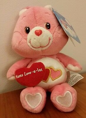 Care Bears Love-a-lot 20th Anniversary - Mother's Day Edition Plush - 2003