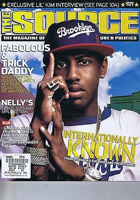 FABOLOUS & TRICK  DADDY / NELLY'S The Source no. 181 Oct 2004
