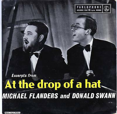 Flanders and Swann At the Drop of a Hat EP / Mono