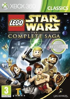 LEGO Star Wars The Complete Saga Xbox 360 Brand New *DISPATCHED FROM BRISBANE*