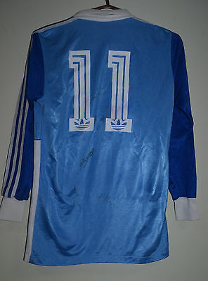 Luzern Switzerland 1980's Match Issue No Worn Football Shirt Jersey Adidas #11