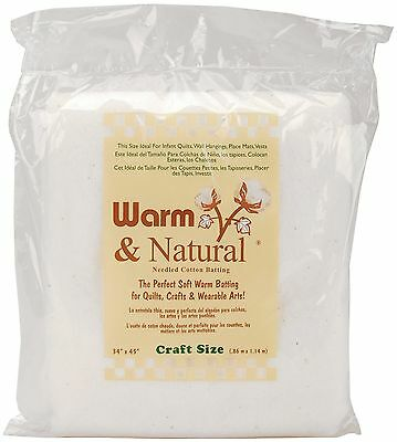 Warm Company Warm and Natural Cotton Batting-Craft Size 34-InchX45-Inch 1