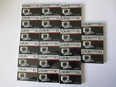 21 X LORAN ULTIMATE Series Certified Personal Computer Cassette 30, Sealed! USA