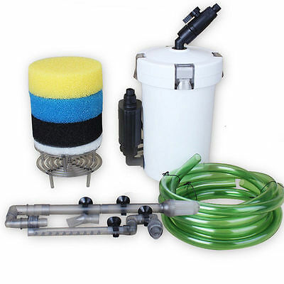 Sunsun 110V/220V HW-603B/602B Aquarium Fish Tank Filter Canister 400L/Hr