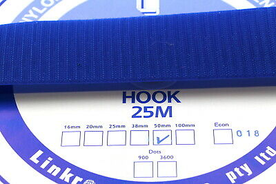 Hook and Loop HOOK SIDE 25mts 50mm Sewing Horse rugs, bags, tents, canvas,cars