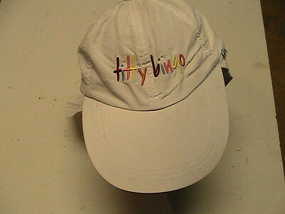 "Willie Nelson Authentic ""titty Bingo"" Baseball Cap Large Visor And Cape"