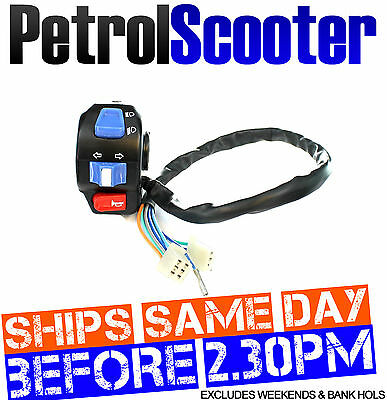 Indicator Flasher LIGHT SWITCH Baotian 49cc 50cc QT9 Chinese Scooter 10 Wire