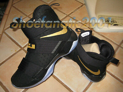 best service b4a23 55458 Nike Zoom LeBron Soldier 10 ID NBA Finals Exclusive Hyperstrike Supreme 7.5  Cavs