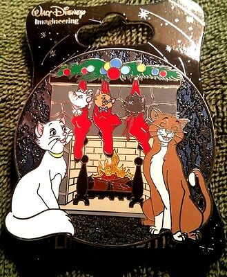 New Disney Wdi Cast Member 2016 Christmas Aristocats Marie Holiday Le 250 Pin