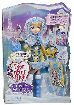 Ever After High - Epic Winter Blondie Lockes Doll DKR66 NEW