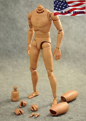 1/6 Scale Narrow Shoulder Male Figure Body For Hot Toys TTM18 TTM19 TTM21