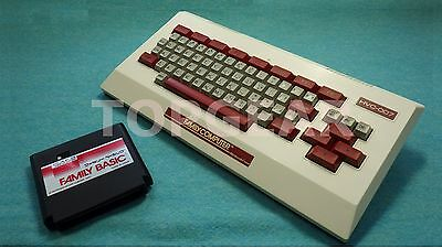 Nintendo Family Basic keyboard + cartridge for Family computer by TOPGEAR.jp