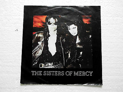 """The Sisters Of Mercy This Corrosion Vinyl 7"""" EX 