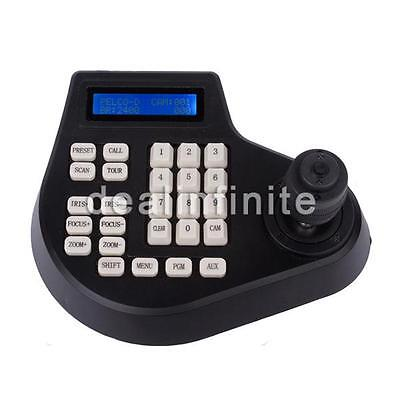 4 Axis Dimension joystick cctv keyboard controller for ptz Speed Dome Camera wr