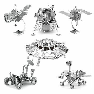 Aviation series 3D Metal Model Puzzle No Glue Jigsaw Laser Cut Assembly Toys Dec