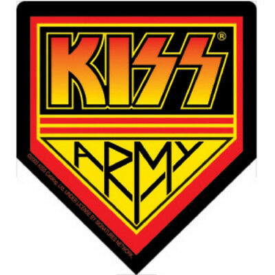 Kiss Army Sticker Official New