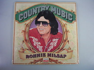 """Milsap, Ronnie - """"Country music"""",LP,Neu,OVP, TimeLife"""