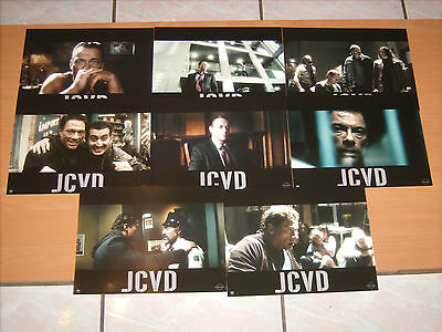 JCVD THE MOVIE - Jean Claude Van Damme- 8 lobby cards !
