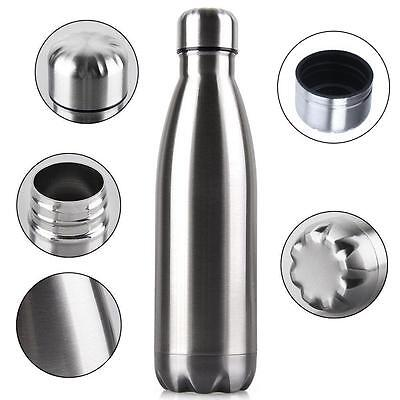 Vacuum Flask Stainless Steel Water Bottle Mug Cup Double Wall Insulated Thermos