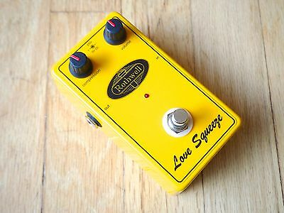 Rothwell Love Squeeze Compressor Boutique Electric Guitar Effects Pedal UK Made