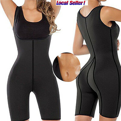Fashion Slimming Sweat Bodysuit Neoprene Thermo Shapers for Weight Loss Womens