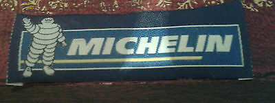 Michelin Tyres embroidered cloth badge patch