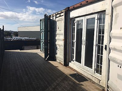 Used 24ft x 40ft Steel Container, Home / Office / Storage