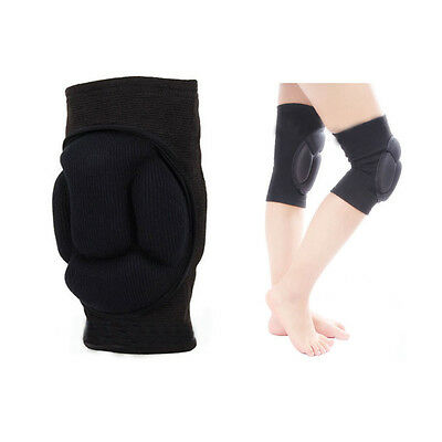 1 Pair Durable Sports Volleyball Football Sponge Foam Protective Knee Cap Pad ZY