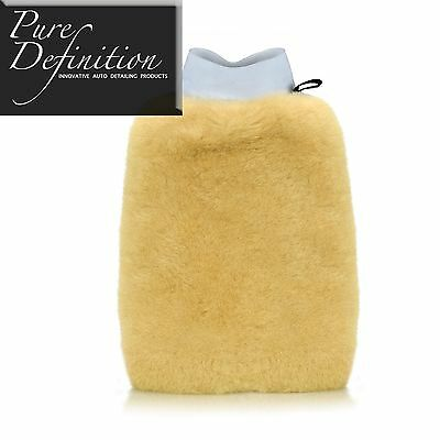 Lambs Wool Synthetic Soft Wash Mitt | Car Cleaning Detailing ~ Pure Definition®