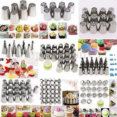 Multistyle Nozzles Nozzle Spouts Cream Cake Cake Icing Nozzles Piping IB
