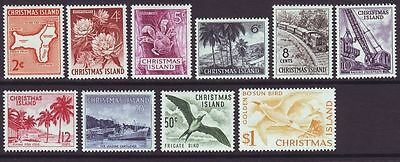 Christmas Island 1963 Definitive  set Mint Hinged condition