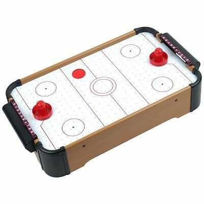 Trademark Mini Table Top Air Hockey - Comes with Everything You Need