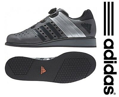 Adidas Drehkraft Iron Grey/Silver Weightlifting Shoes (boots) Deadlift Crossfit