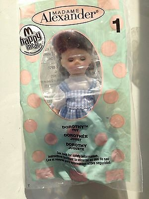 Madame Alexander - The Wizard of Oz - Dorothy - Toy #1 - NEW - McDonalds 2007