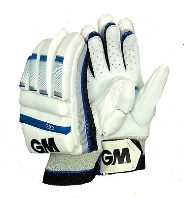 Boys GUNN And MOORE 303 Left Hand Batting Gloves Cricket Junior Kids AM