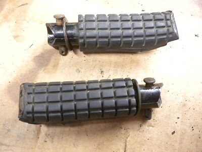 Honda Cbr 1000 F Rear Passenger Pillion Foot Pegs Footrests Pair Left And Right