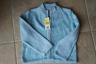 Baby Traditional 1980's Long Sleeve Patterned Cardigan 12-18 Months with tags