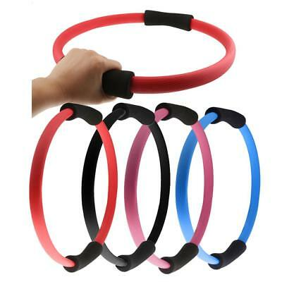 Pilates Ring Magic Resistance Circle Dual Grip Gym Sport Yoga Exercise Fitness