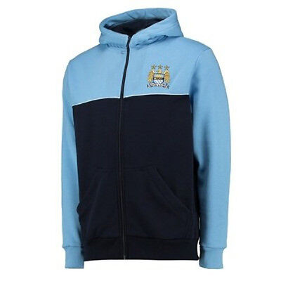 BOYS 4 5 years MANCHESTER CITY Zip Hooded Top Football Hoodie Tracksuit Kids AM