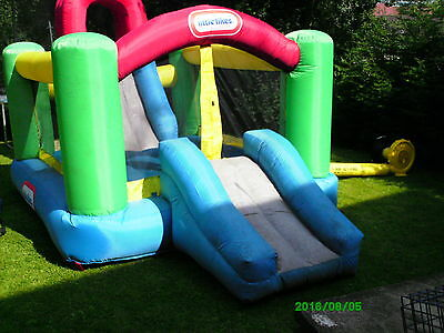 Little Tikes Jump And Double Slide Bouncy Castle