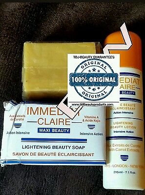 Immediat Claire Lotion 210Ml & Soap 225Gr With Kojic Acid. 100% Original