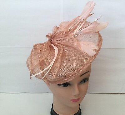 Elegant Headband Fascinator Hat Aliceband Wedding Ladies Day Race Royal Ascot