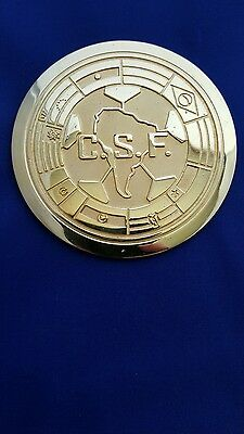 PELÉ owned 1991 C.S.F. 75th ANNIVERSARY MEDALLION presented to Pele