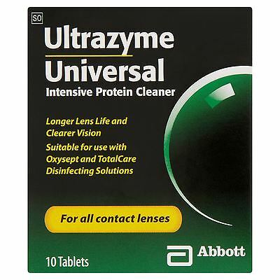 6 Packs of Ultrazyme Universal Intensive Protein Cleaner 10 Tablets