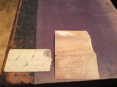 CIVIL WAR LETTER & COVER DATED 1863 ALLEGHENY NY ID'd SOLDIER BATTLE & CANDID