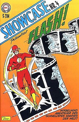 DC-SHOWCASE #4 FLASH (deutsch) Erstausgabe DER ROTE BLITZ German Reprint VARIANT