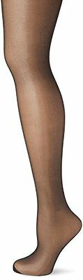 New Look Glossy Sheer, Collant Donna, Nero, Large