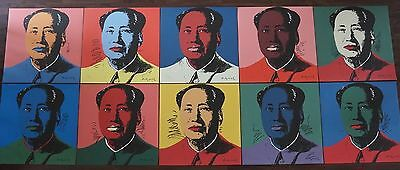 Andy Warhol - Complete set of Mao Zedong 10 lithograph's