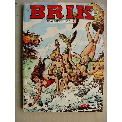 BRIK N°154 La mitraille d'Or - Rok l'homme invisible (les pirates du ciel) Fishb